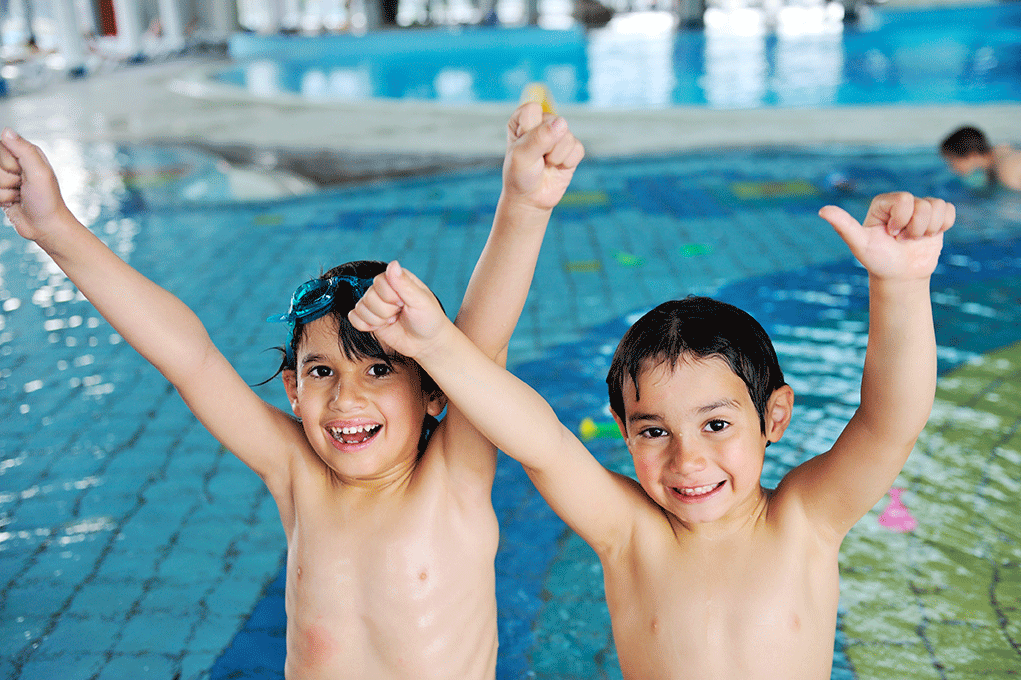 NSF to glade gutter i vann