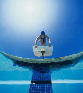 NSF startposisjon vinkel fra undervann