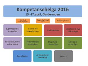Open Water på Kompetansehelga 2016