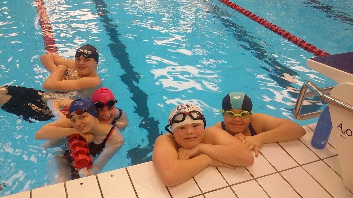 Svømming for utviklingshemmede -