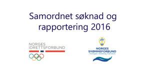 60 klubber har gjennomført samordnet rapportering