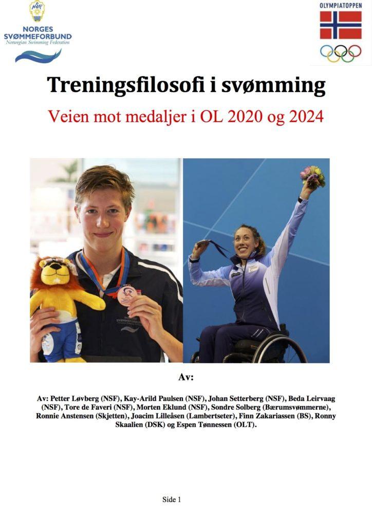 Forside treningsfilosofi svømming
