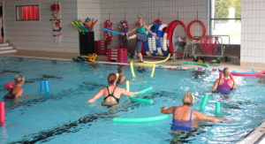 Instruktørkurs Vanngymnastikk 19.-21. august, Lambertseter