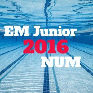 Uttak til EM Junior og NUM