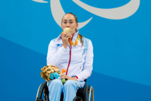 Gull til Sarah Louise Rung i Paralympics!