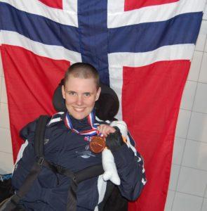 Ingrid Thunem kåret til Årets funksjonshemmede svømmer