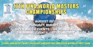 VM Masters Budapest 2017. Start lister klare