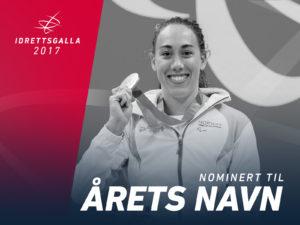 4 nominasjoner til Idrettsgallaen!