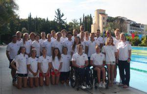 Alle svømmelandslagene på samling til Kypros