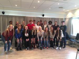 Mye læring og god stemning på Lederkurs for ungdom