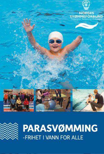 Ny brosjyre for å markedsføre Para svømmeidrett