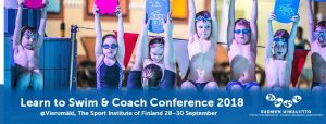 Learn to swim & coach conference i Finland