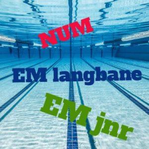 Uttak til sommerens mesterskap i svømming