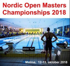 Nordisk Mesterskap Masters 12-13/10-2018