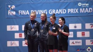Fina Grand Prix Madrid / Spania