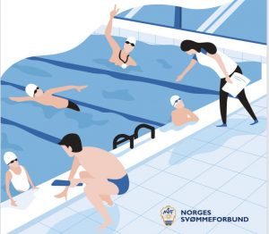 E-kurs om NSFs utviklingstrapp for svømming lansert
