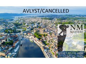 NM Masters 2020 AVLYST / CANCELLED