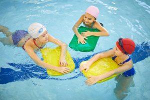 Svømmeopplæring hjemme, uten basseng