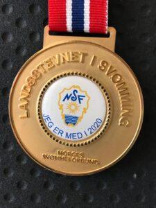 Deltakermedalje Landsstevnet 2020 Lokalt